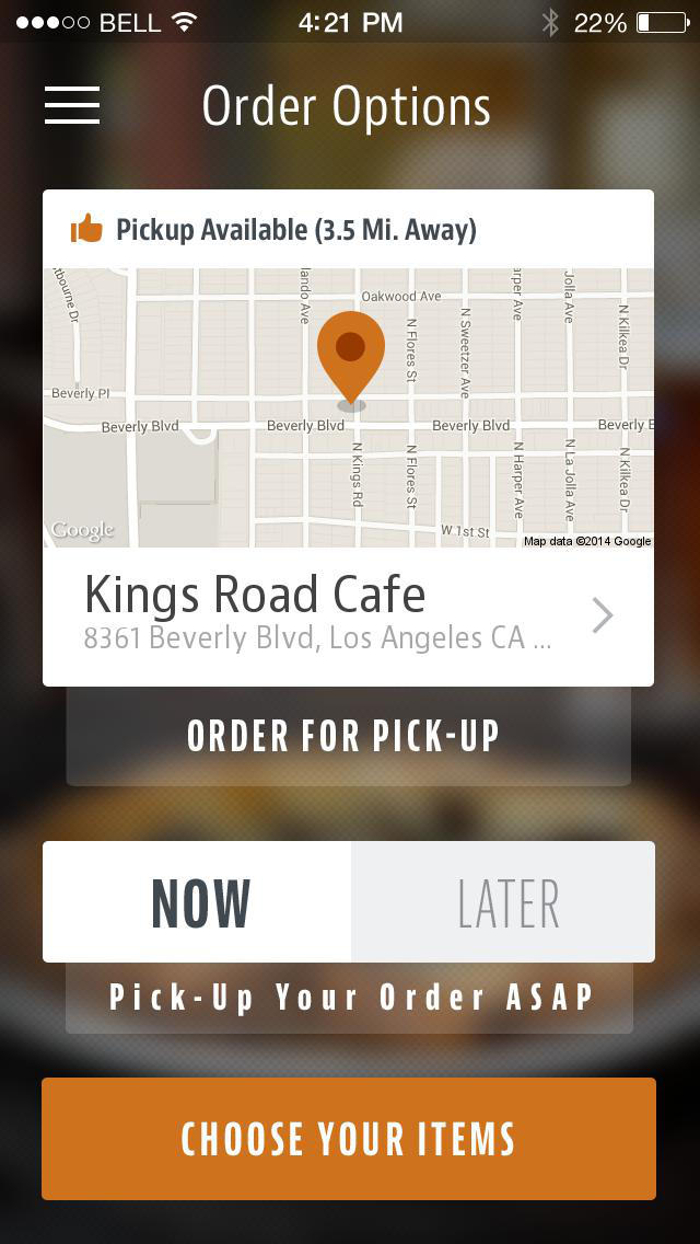 Kings Road Cafe screenshot 2
