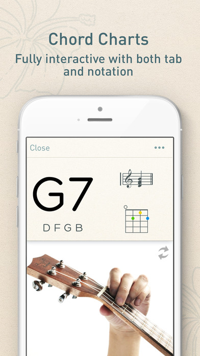 Ukulele ukulele chords hand position : UkeChords - Real Fingering Positions For Ukulele Chords on the App ...