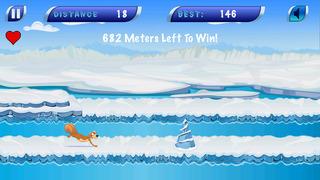 Frozen Icebreaker Runner screenshot 1