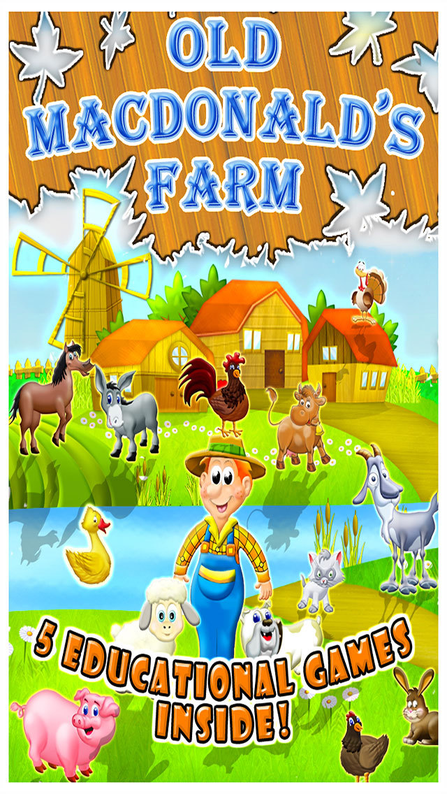 Old Macdonald Had a Farm. screenshot 1