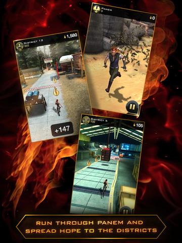 Hunger Games: Catching Fire - Panem Run screenshot 10