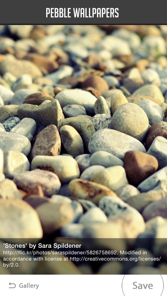 Pebble Wallpapers screenshot 2