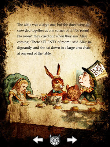 Alice for the iPad screenshot 4