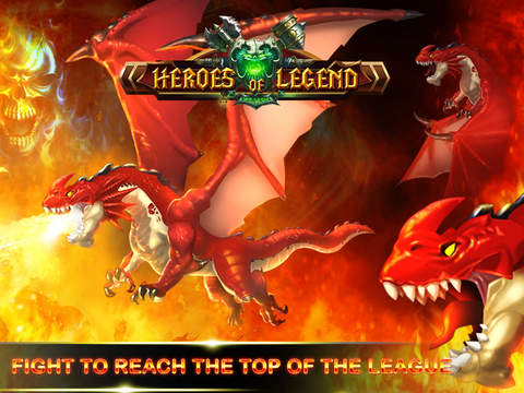 Heroes of Legend : Castle Defense screenshot 10