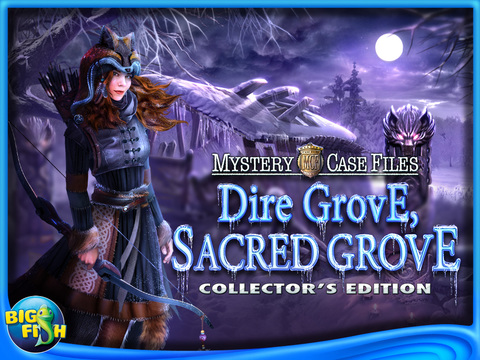 Mystery Case Files: Dire Grove, Sacred Grove HD - A Hidden Object Detective Game screenshot #5