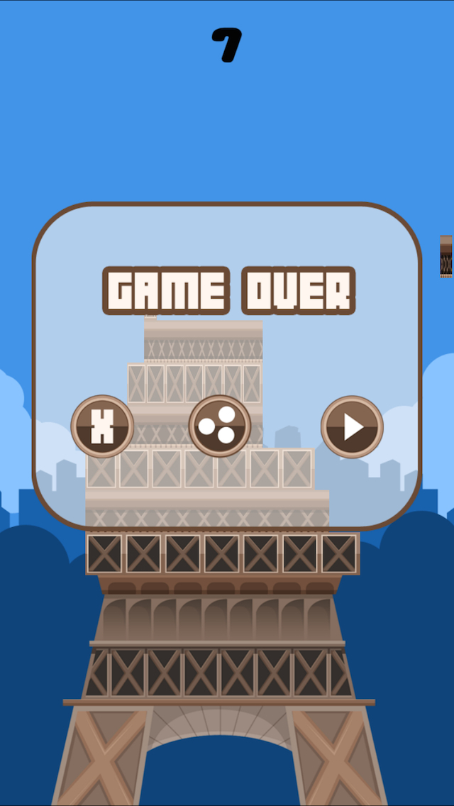 French Tower Builder Lite screenshot 2