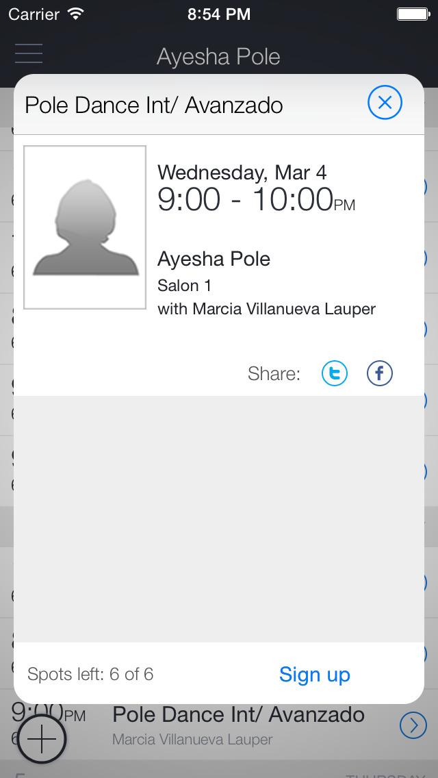 Ayesha Pole Dance & Fitness screenshot 2
