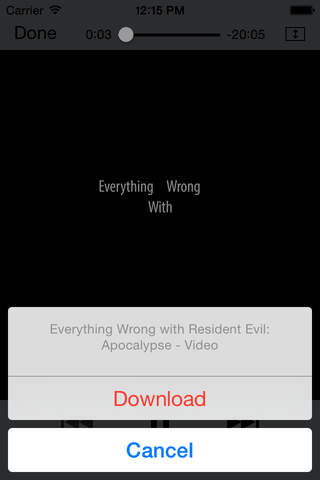 My Video Downloader Free - náhled