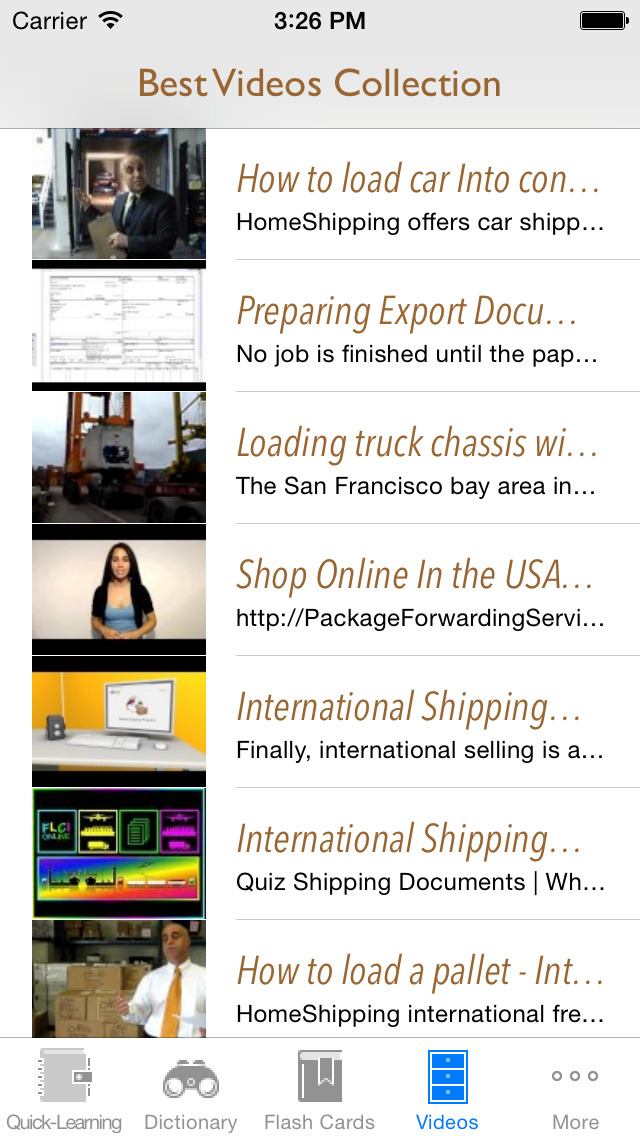 Shipping, Transport & Travel Quick Study Reference: Best Dictionary with Video Lessons and Learning Cheat Sheets screenshot 5
