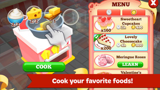 Restaurant Story 2: Valentine's Day screenshot 2
