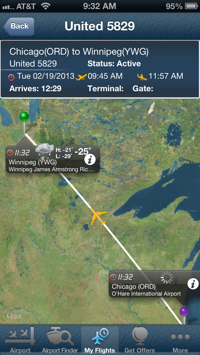 Flight Tracker Air Canada Map Winnipeg Airport+Flight Tracker Bearskin Calm air Canada | Apps