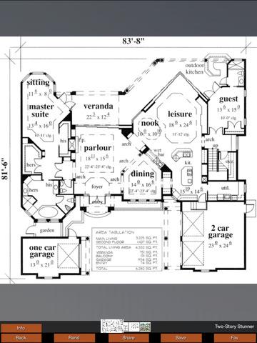 House Plans Mediterranean screenshot 6