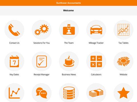 Sunflower Accountants screenshot #2