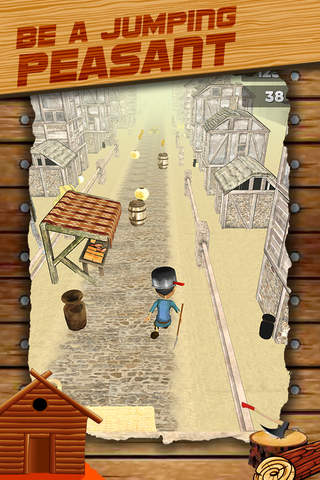 3D Peasant Run Infinite Runner Game with Endless R - náhled