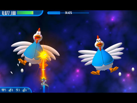 Chicken Invaders 3 HD - náhled