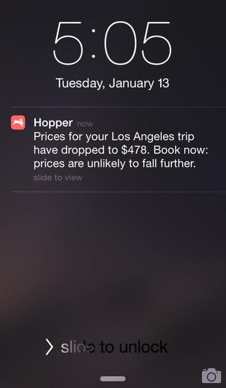 Hopper - Flight & Hotel Deals screenshot 5