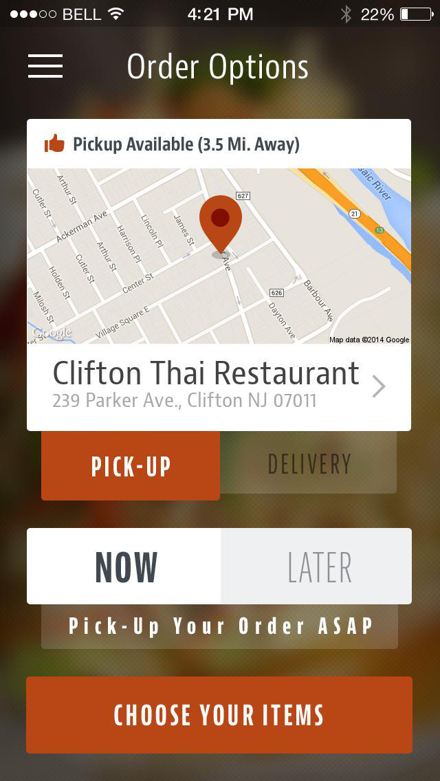 Clifton Thai Restaurant screenshot 2