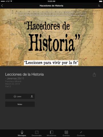 Iglesia Amistad screenshot 6