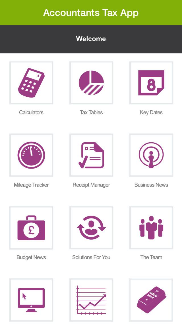 Accountants Tax App screenshot #1