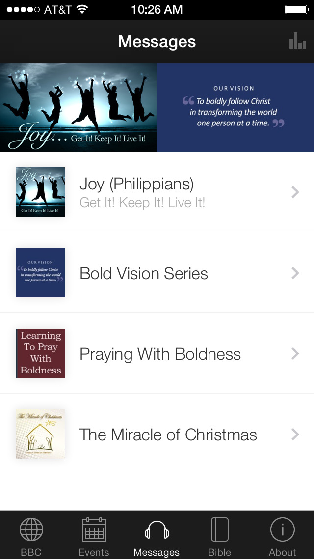 Bethel Bold screenshot 1