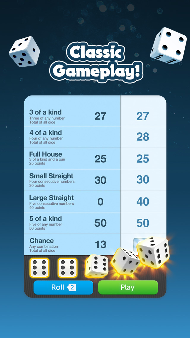 Dice With Buddies: Social Game screenshot #1