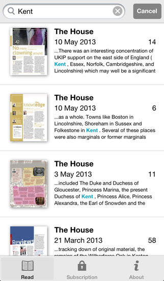The House Magazine screenshot 5