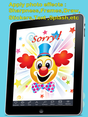 Sorry Cards with photo editor.Send sorry greeting card and custom apology ecards with text and voice messages! screenshot 8