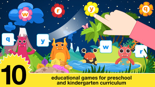 Preschool & kindergarten all in one learning games screenshot 2