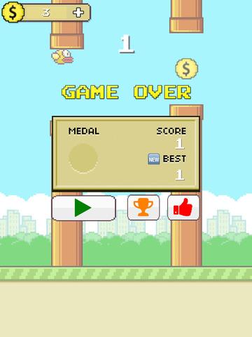 Flappy Anti Hero Go: gravity flip screenshot 9