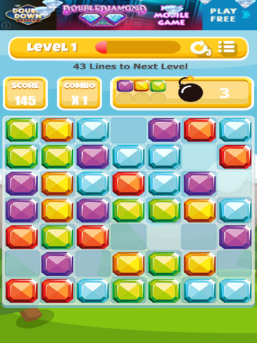 A Gem Mine: Jewel Match Line Puzzle - Pro Edition screenshot 9