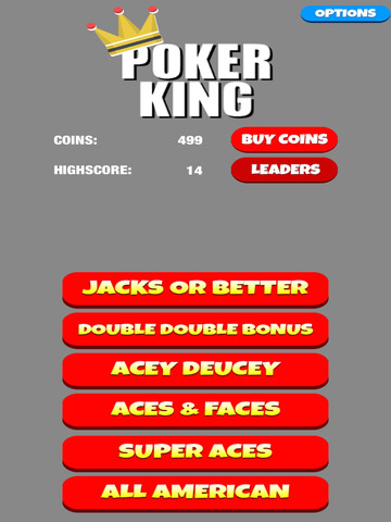 Poker King - Video Poker Game screenshot 6