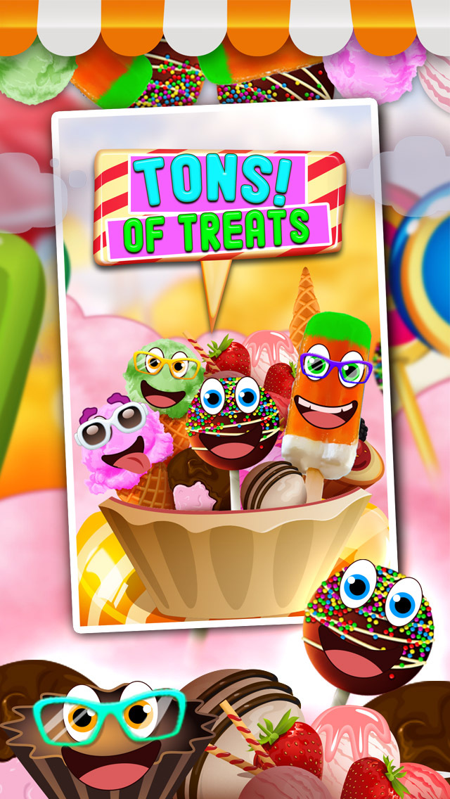A Carnival Candy Maker Mania - Free Food Games for Girls and Boys screenshot 2