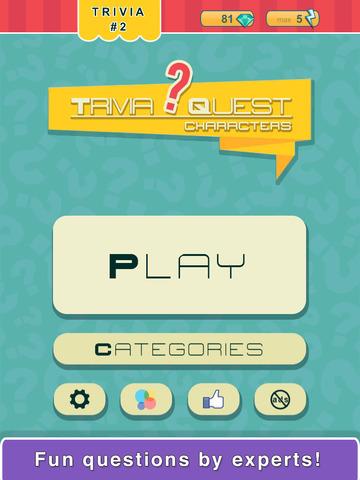 Trivia Quest™ Characters - trivia questions screenshot 8