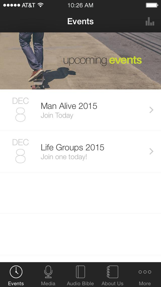 Oakhill App screenshot 1