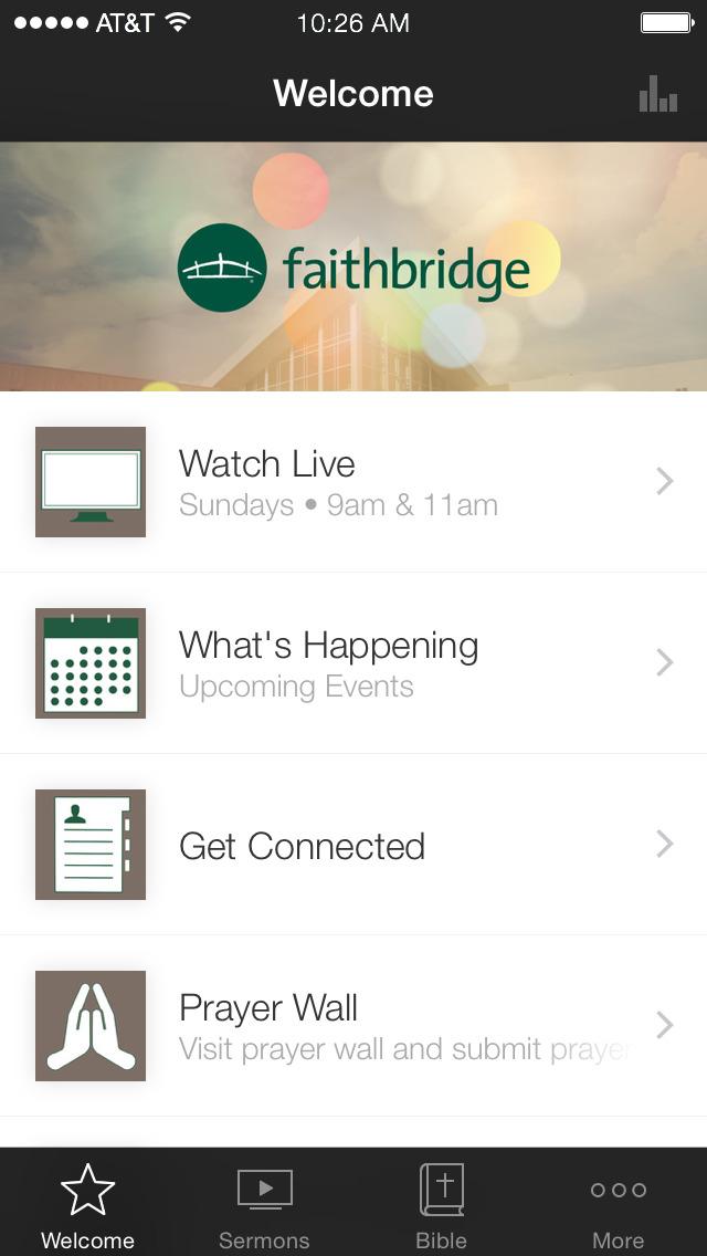 Faithbridge screenshot 1