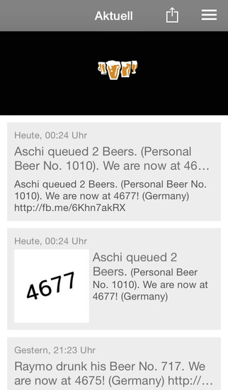 Bier Counter screenshot 1