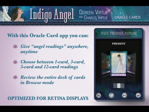 Indigo Angel Oracle Cards - Doreen Virtue, Ph.D. and Charles Virtue screenshot 5