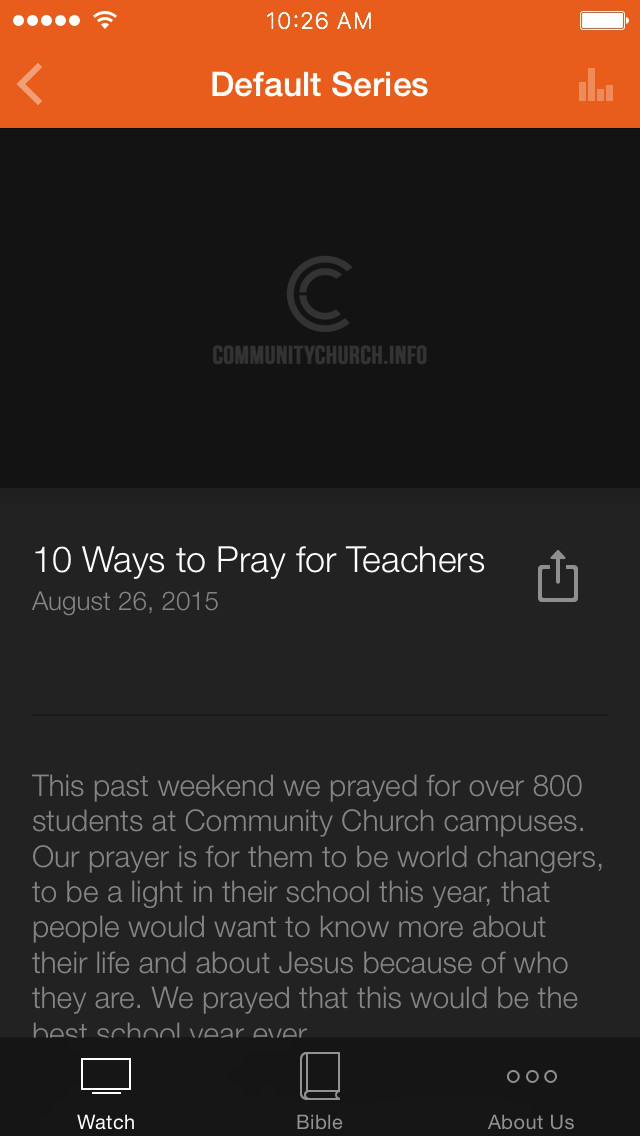 The Community Church App screenshot 3