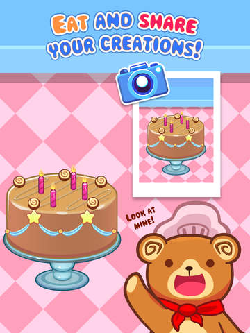 My Cake Maker - Create, Decorate and Eat Sweet Cakes screenshot #5