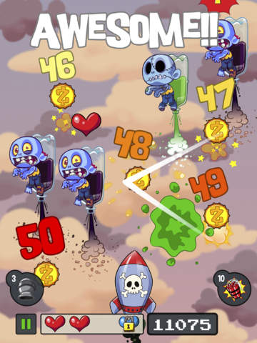 Bounty Hunter vs Zombie: The Intergalactic Undead Wars screenshot #4