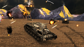 Tank Strike Battle 3D screenshot 3