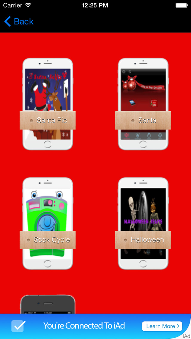 Ask Santa Claus App screenshot 1