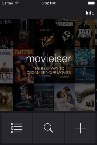 Movieiser - náhled
