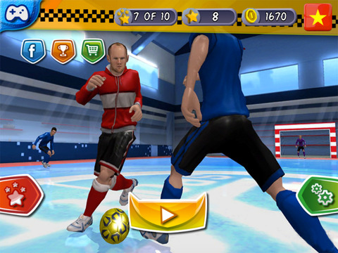 Indoor Soccer 19: Futsal Cup screenshot 10