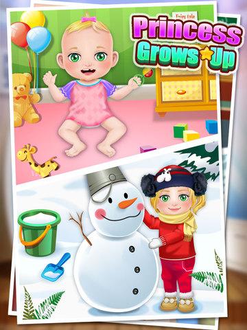 Princess Grows Up - Free Kids Games screenshot 6