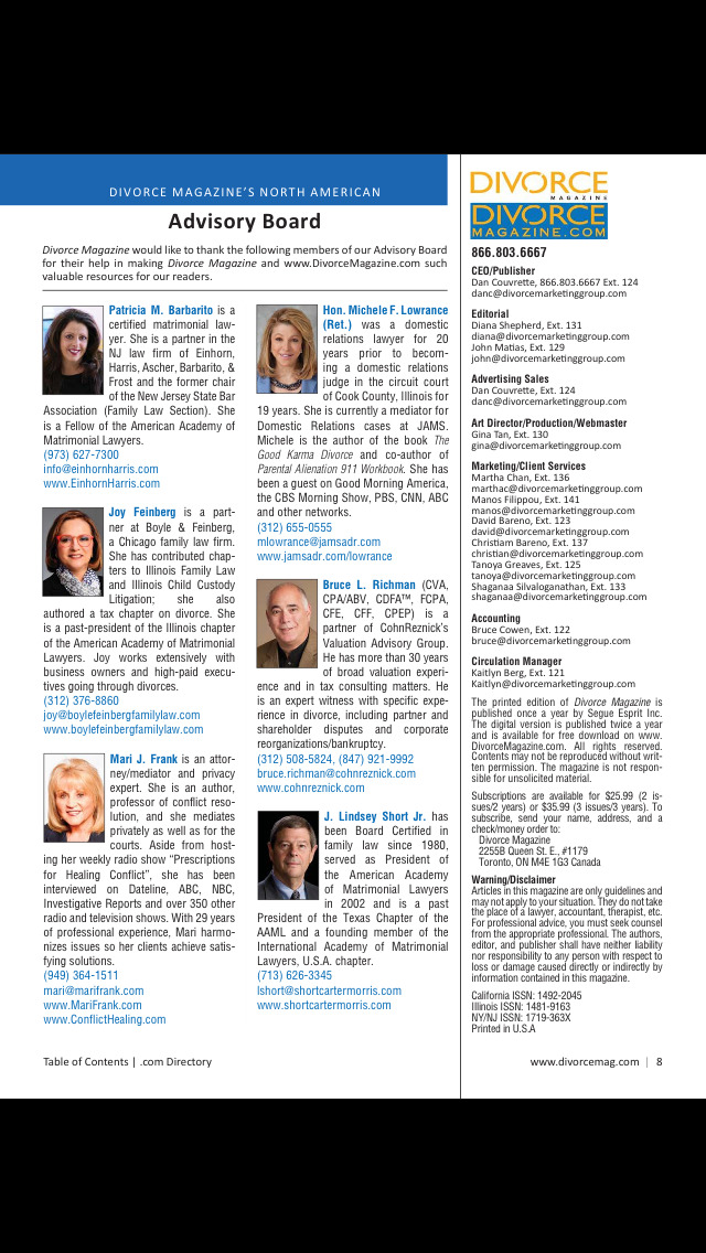Oklahoma Divorce Magazine screenshot 3