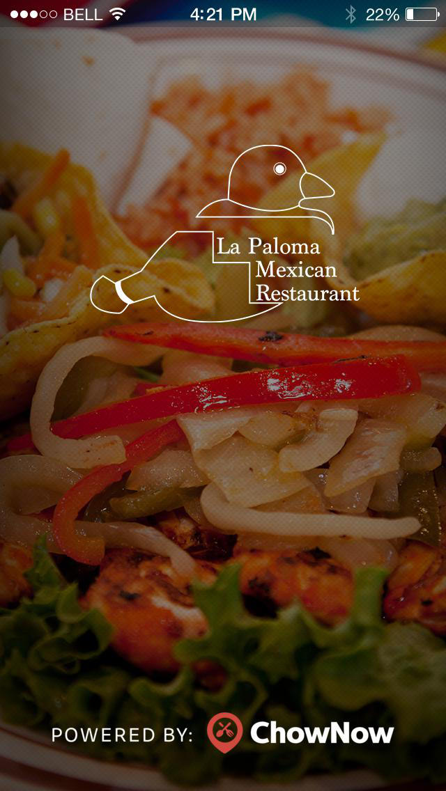 La Paloma Mexican Restaurant screenshot 1