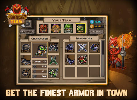 Legendary Team – the action role playing game for epic heroes screenshot 10