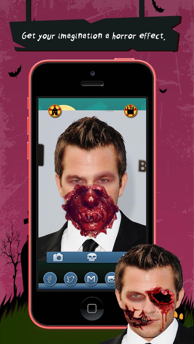 Zombie Booth Lite screenshot 3