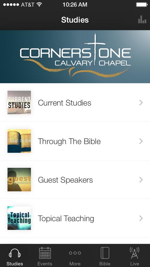 Cornerstone Calvary Chapel screenshot 1